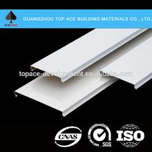 perforated aluminum false ceiling metal strip ceiling