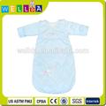 Halten organischen 100% baumwolle baby lammfell schlafsack