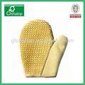 baño exfoliante natural guante de fibra de sisal cuerpo spa guante de limpieza depurador