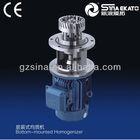 sina ekato high quality YDL moveable pheumatic lifting vacuum homogenizer sina(stainless steel bracket)