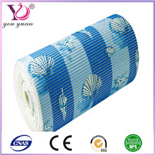 printed PVC non-slip moblie mat ,car grip pad popular