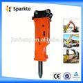 Placa de la válvula asamblea/caja silenciada excavadora hidráulica interruptor