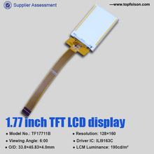 Best price micro lcd screen sample low price 1.77 inch 128*160 for game player