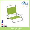 portátiles de bajo el asiento de aluminio plegable silla de playa