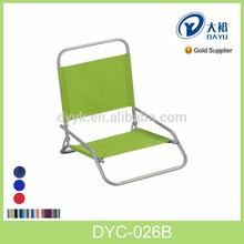Portátil bajo los asientos de aluminio de aluminio plegable silla de playa