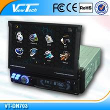 2014 high quality 1 din dvd car audio navigation system