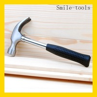 Best quality high carbon steel claw hammer with fiberglass handle