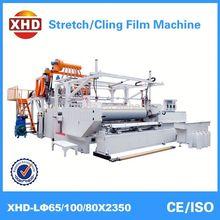 lldpe resin stretch film machine