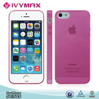 Transparent colorsoft tpu case for iphone 5 cell phone case