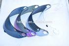 ECE certification and PP/Plastic material helmet full face visor/face shield protectors