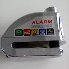 zinc alloy alarm bike lock,steering lock motorcycle