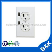 wall travel adapter usb 2.1a switching travel charger battery powered plug outlet