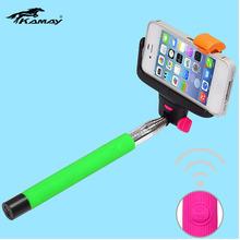 for Gopro hd hero Extendable Self-portrait Handheld selfie wireless monopod mono pod