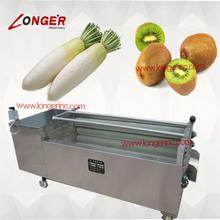 Stainless steel potato/carrot/apple/sweet potato washing equipment