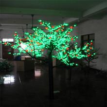 3200 leaves 48 fruits 1080 led H: 2.5m man-made led tree led cherry blossom light