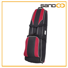 China supplier wheeled golf travel bag, wholesale golf bag with wheels
