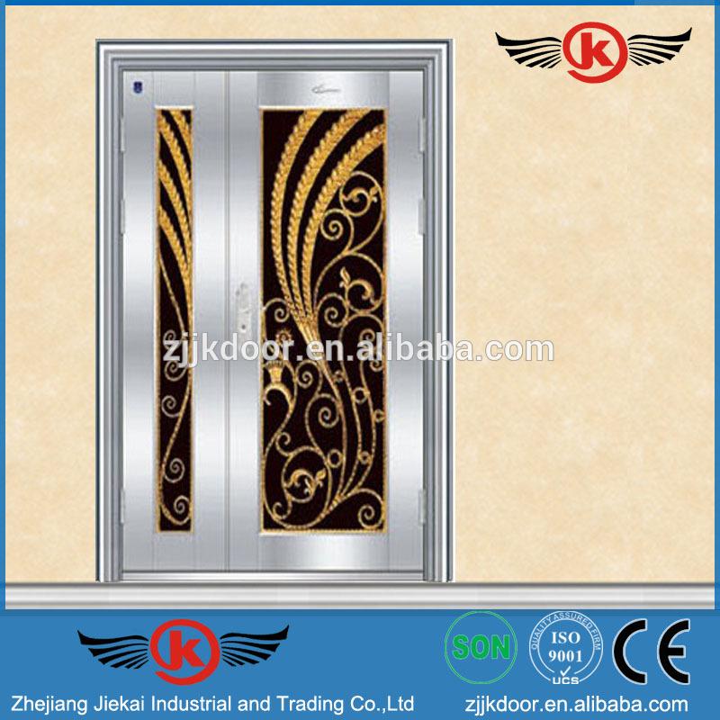 Jk Ss9036 Stainless Steel Grill Door Design Luxury Metal