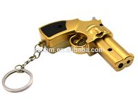 2014 Newest Wholesale Laser Pointer Gun Shape Festival Giveaways,Cheap Laser Pointer Keychain, 5mW 650nm Red Laser Pointer