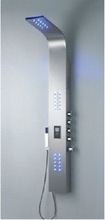 Stainless Steel Electronic Shower Control Panel S9406 with LED light