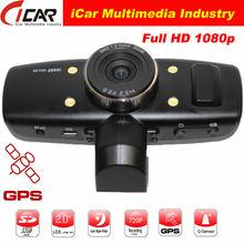 "HD1080P 1.5"" LCD Night Vision Car Dash Camera GPS HDMI G-sensor CE FCC Car Video Recorder"