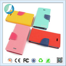 Francy Color Flip Leather Wallet Card Case for iPhone 6
