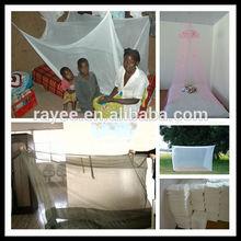 100%polyester mosquito net / anti malaria mosquito net/bed net / mosquiteras/ mosquiteros