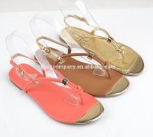 New 2013 Flat Heel Sandals Women's Flower Rubber Peep Toe Flat Sandal Shoes Flip-Flop Slippers