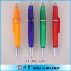 Promotional frost colorful ball pen with parker ink