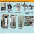 Demarcar o pão crocante pão industrial linha de produção usado venda quente equipamentos de padaria padaria laminadora massa da máquina padaria(complete