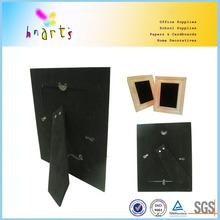 velvet surface black strutback flock paper backboard