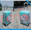 Fashion design airport trolley valise us polo travel bag