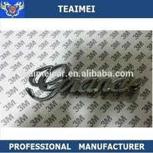 ABS Toyota Gnande chrome trunk rear logo badge car emblem