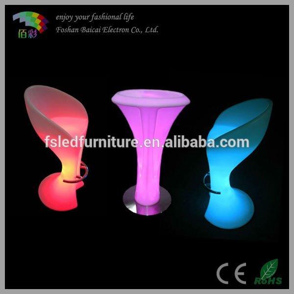 Nightclub Furniture Wholesale Wholesale led PE nightclub bar stool shirt chair - Alibaba.com