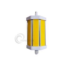 R7s 118mm 8w COB led flood light led bulb,COB SMD R7s double end base aluminum 180degree,R7s 118mm 8w COB led flood light led bu