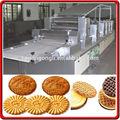 biscoito do sanduíche biscoito automático de pulverização de óleo da máquina
