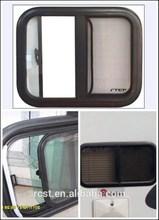 Aluminum frame side sliding motorhome & rv window