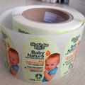 Proveedor de etiquetas personalizadas PP/PE rollo de papel champú para impresión