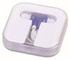 hard plastic carrying case,plastic earphone case,ear buds case YC595