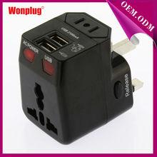 Walmart Gold Supplier Wonplug Patent 2014 Hot Sale Popular samsung travel adapter