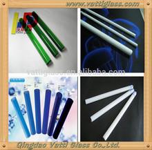 Color Borosilicate glass tube/ Rod,Clear smoking pyrex pipes borosil glass tube (p)