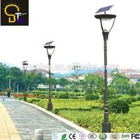 Round Solar Panel garden light 12v solar 20w led street light No.1 Alibaba Ranking Factory