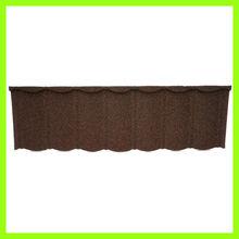 Korean Union steel galvalume panel Material Stone Coated Roof Tile / Plain Roof Tiles Type