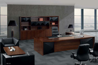 Caesa hottest modern executive office table trade assurance custom made products office desk veneer executive table design