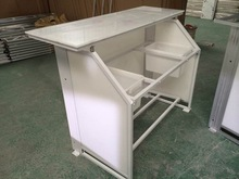 Portable counter,folding bar table for club and event music bar counter