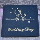 handmade 3D church wedding card design laser cut wedding invitation