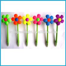 Wind-up pinwheell plastic ball Pen