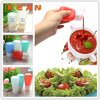 Ketchup and Mustard Bottles/High Quality Food Grade Refillable Silicone Ketchup and Mustard Bottles