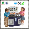 2014 hot sale!New design kitchen set toy/toy kitchen play set/non-toxic plastic kitchen toyQX-162D