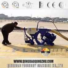 China Airport Runway Surface Shot Blasting Machine / Bridge Deck Shot Blasting Machine