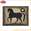 SHABBY CHIC PILLOW CUSHION COVER PRESENT GIFT RACING CASE HORSE PONY TAPESTRY